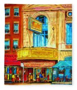 The Rialto Theatre Fleece Blanket