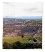 The Road Is Long Fleece Blanket