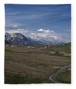 The Road To The Great One Fleece Blanket
