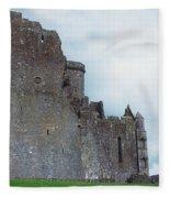 The Rock Of Cashel, Co Tipperary Fleece Blanket
