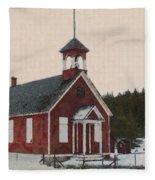The School House Painterly Fleece Blanket