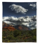 The Serenity Of Sedona  Fleece Blanket