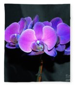 The Shade Of Orchids Fleece Blanket
