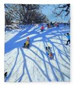 The Shadow Derbyshire Fleece Blanket