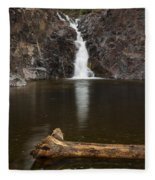 The Shallows Waterfall 2 Fleece Blanket