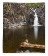 The Shallows Waterfall 3 Fleece Blanket