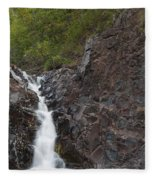 The Shallows Waterfall 4 Fleece Blanket