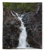The Shallows Waterfall 5 Fleece Blanket
