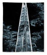 The Shard London Fleece Blanket
