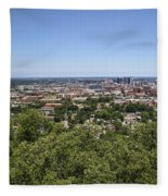 The Southern City Of Birmingham Alabama Fleece Blanket