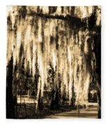 The Spanish Moss Fleece Blanket