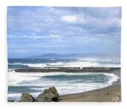 The Spectacular Oregon Coast Fleece Blanket