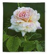 The Splendor Of The Rose Fleece Blanket