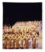 Dramatic Aida Fleece Blanket