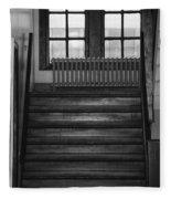 The Stairway Fleece Blanket