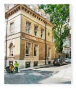 The Streets Of London Fleece Blanket