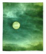 The Sun Through Clouds  Fleece Blanket