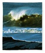 The Surf Motel Fleece Blanket