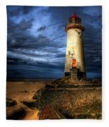 The Talacre Lighthouse Fleece Blanket