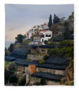 The Terraces Of Amalfi Fleece Blanket