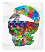 The Thought Escapes Me Fleece Blanket