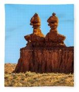 The Three Goblins Fleece Blanket