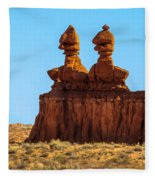 The Three Goblins Fleece Blanket