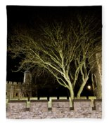 The Tower Of London At Night  Fleece Blanket