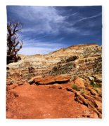 The Trail Ahead Fleece Blanket