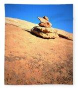 The Trail Marker Fleece Blanket