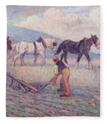 The Turn - Rice Plough Fleece Blanket