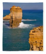 The Twelve Apostles In Port Campbell National Park Australia Fleece Blanket