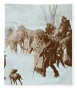 The Underground Railroad Fleece Blanket