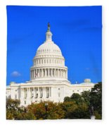The United States Capitol Fleece Blanket