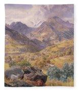 The Val D'aosta Fleece Blanket