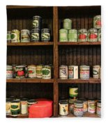 The Vintage Pantry At Vulcan Fleece Blanket