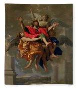 The Vision Of St. Paul Fleece Blanket