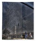 The Wall That Heals Fleece Blanket