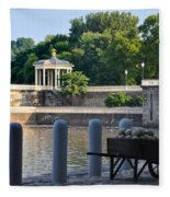 The Waterworks Wheelbarrow - Philadelphia Fleece Blanket