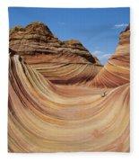 The Wave Fleece Blanket