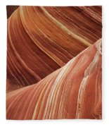 The Wave Sandstone Magic Fleece Blanket