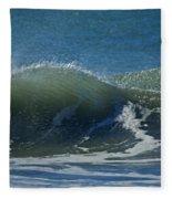 The Windblown Wave Fleece Blanket