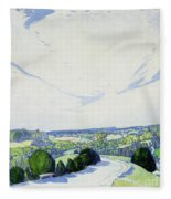 The Winding Road Fleece Blanket