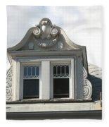 The Window Quebec City Fleece Blanket