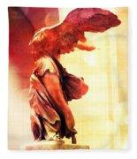 The Winged Victory  Fleece Blanket
