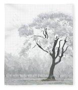 The Winter's Embrace Fleece Blanket