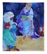 The Wisemen Fleece Blanket
