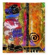 The Woven Stitch Cross Dance Fleece Blanket