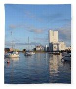The Yacht Club Fleece Blanket