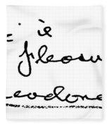 Theodore Dreiser (1871-1945) Fleece Blanket